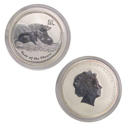 silver perth mint year the