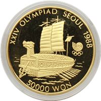 proof gold south korean ,000