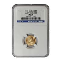 gold american eagle ngc ms70