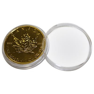 plastic coin capsule fits canadian