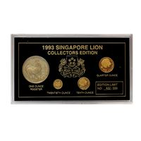 singapore lion coin collectors edition