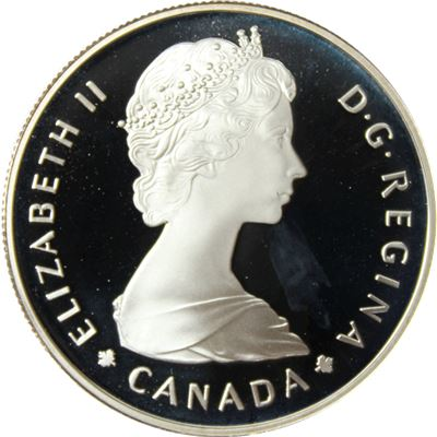 canadian national parks silver dollar