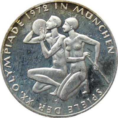 german mark proof silver coin