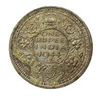 india british one rupee silver