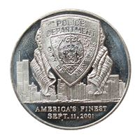 new york police department silver