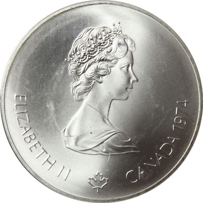 canadian $5 dollar silver coin