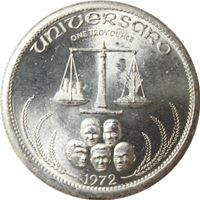 universaro world trade silver art