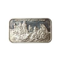 washington valley forge silver art