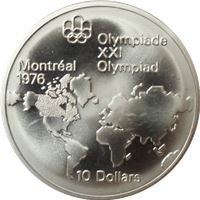 canadian $10 dollar silver coin