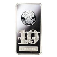 silver bar walking liberty design