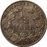 germany imperial mark silver coin