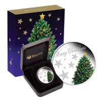 australia proof silver merry christmas