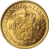 netherlands gulden gold coin random
