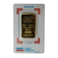 credit suisse gold bar assay