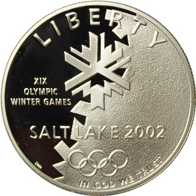 mint olympic winter games coin