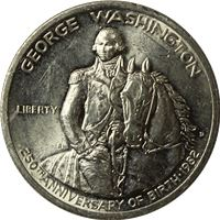 george washington silver half dollar