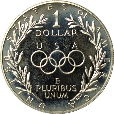mint olympic games coin gold