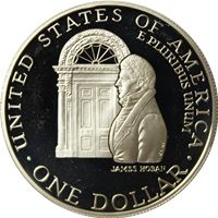 white house proof silver dollar