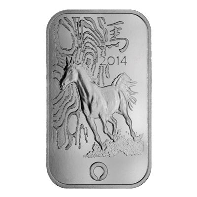 rand refinery thoroughbred horse silver