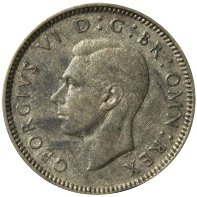 great britain sixpence silver coin
