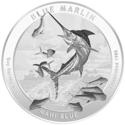 guy harvey silver round series
