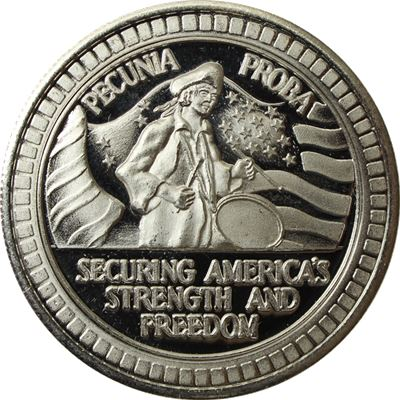 free the eagle silver round