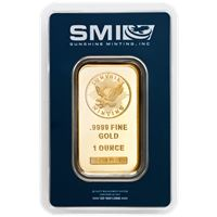sunshine mint gold bars assay