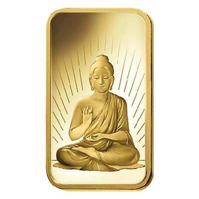 buddha gram gold bar pamp
