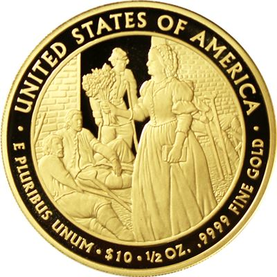 $10 first spouse gold proof