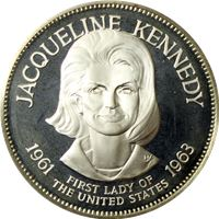 jacqueline kennedy proof sterling silver