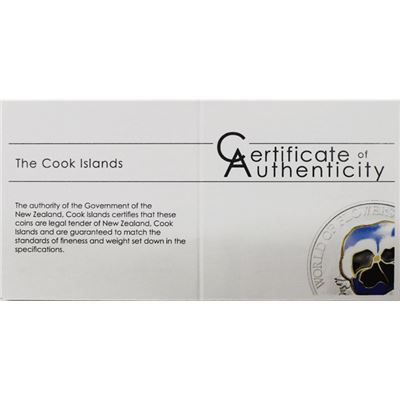 cook islands pansy proof silver