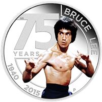 bruce lee silver proof coin