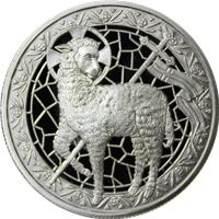 lamb god silver round pure