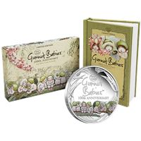 gumnut babies proof silver coin