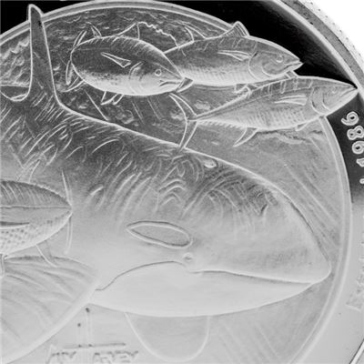 guy harvey orca silver proof