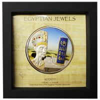 nefertiti egyptian jewels silver proof