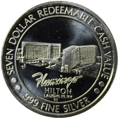 flamingo hilton silver proof asw