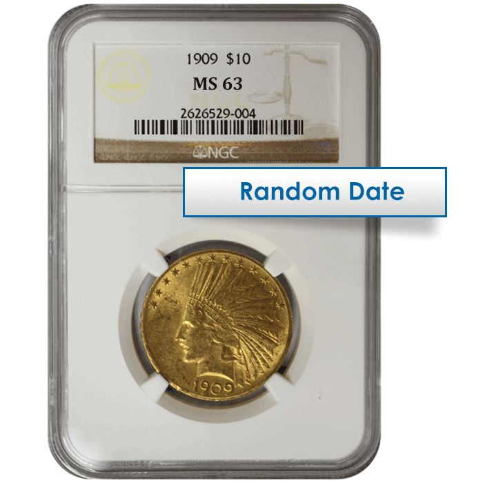 U.S Gold $10 Liberty Eagle PCGS MS 63 ** Random Dates