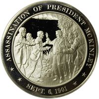 assassination president mckinley proof sterling