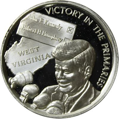 john kennedy victory the primaries