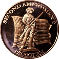 second amendment patriotism copper round