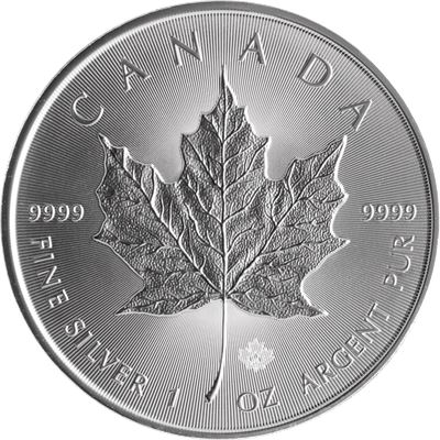 spotted canadian silver maple leaf