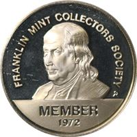 franklin mint collectors society sterling