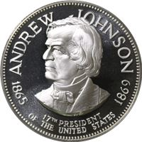 andrew johnson proof sterling silver
