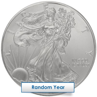 american silver eagle spotted
