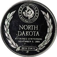 north dakota proof sterling silver