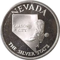 nevada the silver state sterling