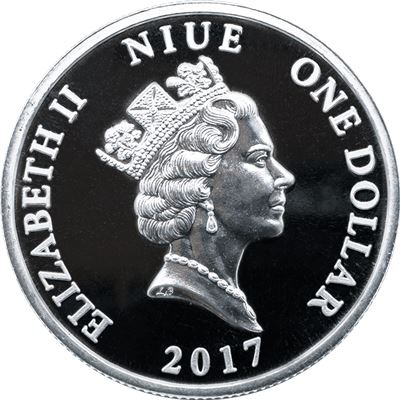 guardian angel silver coin niue