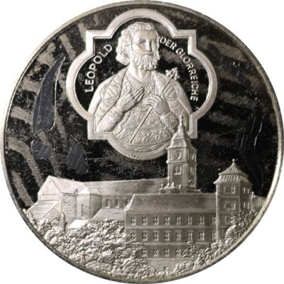 babenberg exhibition proof sterling silver