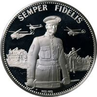 semper fidelis proof sterling silver
